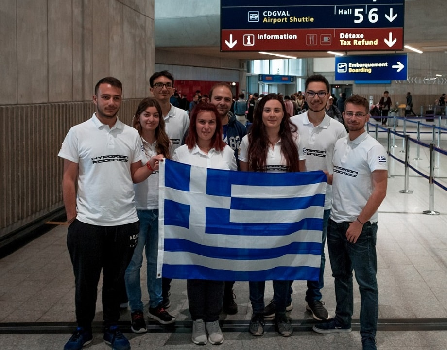 Hyperion Robotics travel to the international contest Eurobot in France