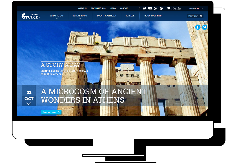 Discover Greece Case Study Digital Technology