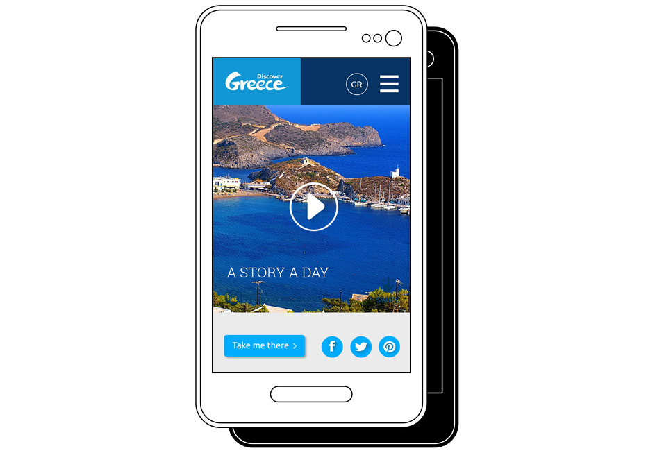Discover Greece Case Study interactive platform