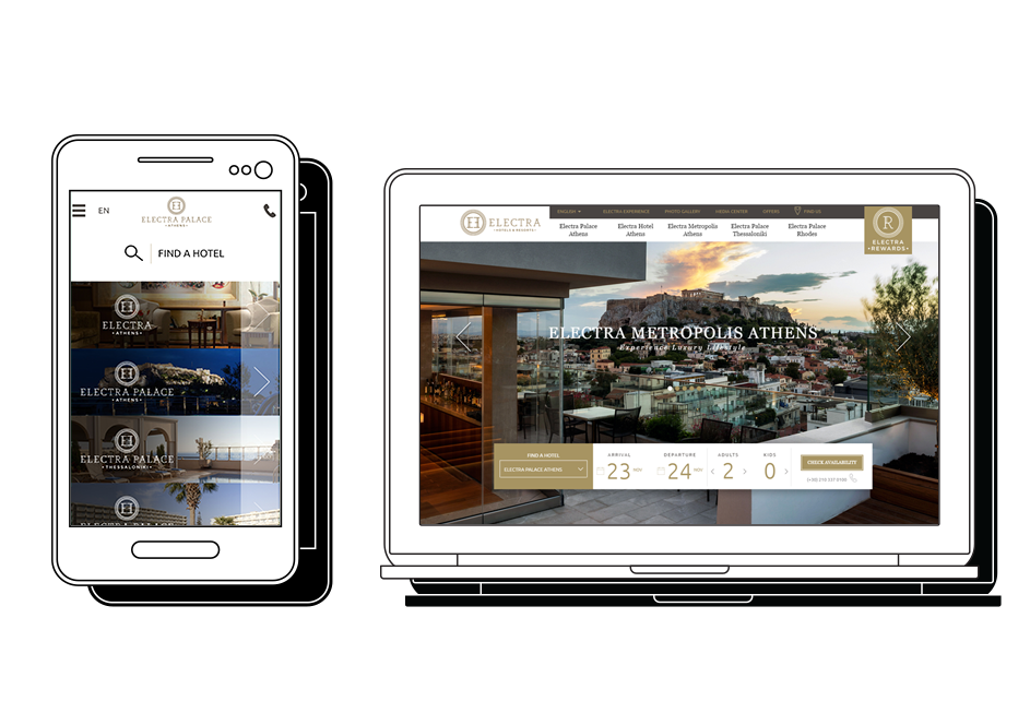 Electra Hotels Case Study Responsive