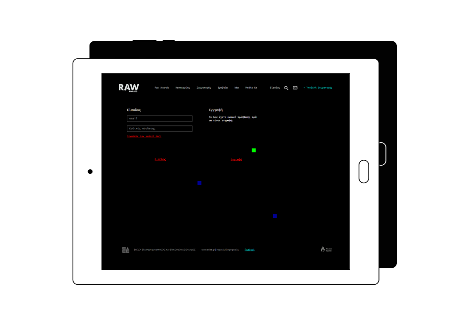 Raw Awards Case Study Create a Website